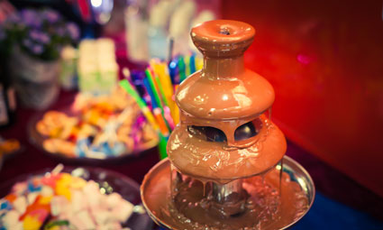 Chocolate Fountains Are Versitle