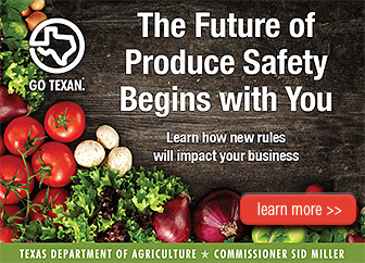 Growing Produce In Texas 2018