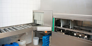 Commercial Dish Machine With Conveyer