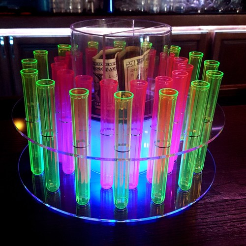 Round Test Tube Tray For Drinks